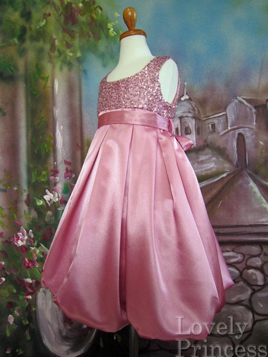子供ドレス チェルシー ピンク
