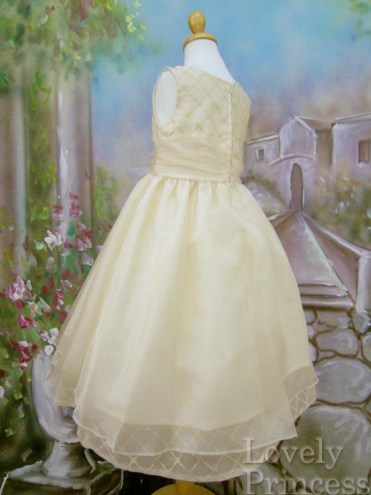 子供用ドレス アリサ ゴールド
