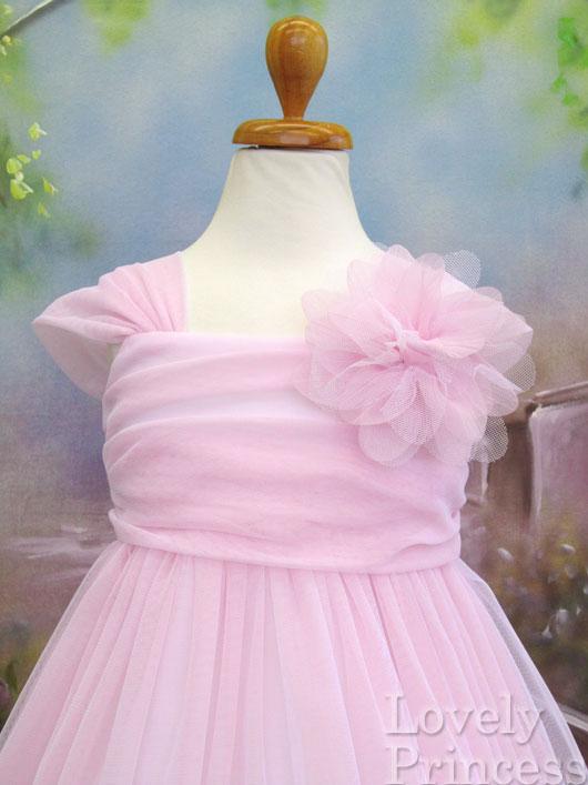 子供用ドレス ユニス ピンク