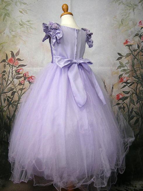 子供ドレス アマンダ ライラック