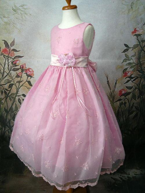 子供ドレス ルーシー ピンク