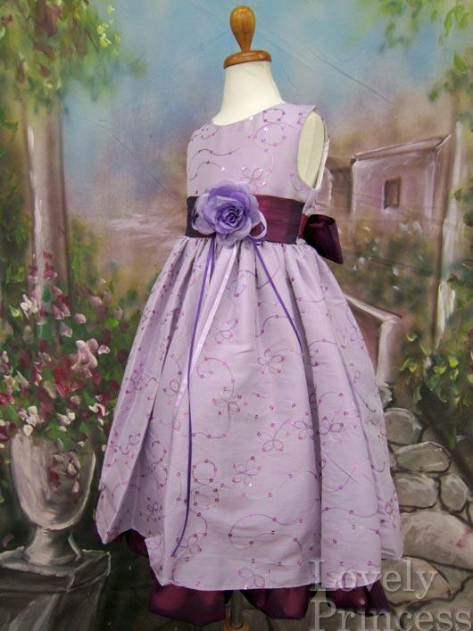 子供ドレス ルビー ライラック