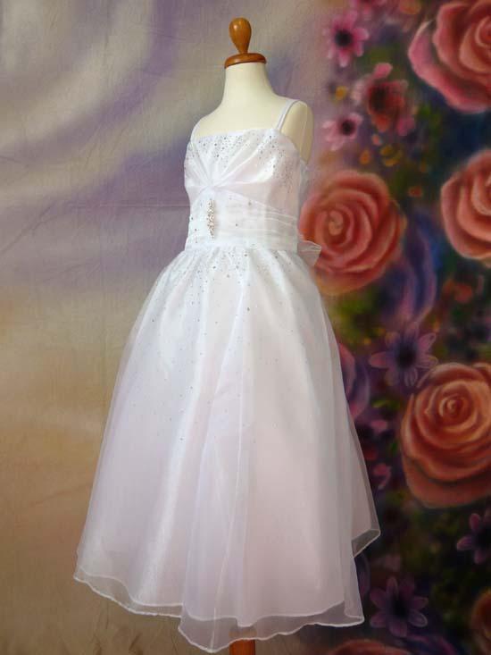 子供ドレス ミーシャ ホワイト