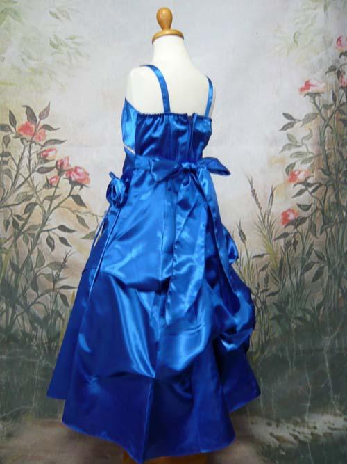 子供ドレス アメリア ロイヤルブルー