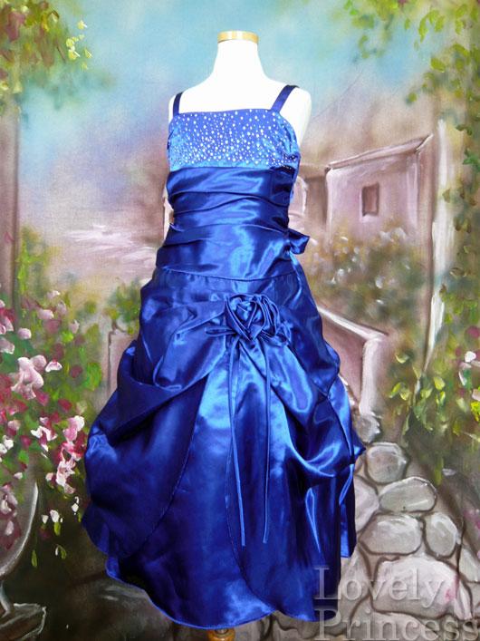 子供ドレス ロザンヌ ロイヤルブルー