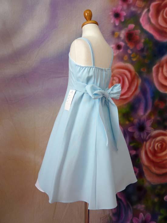 子供ドレス ジャネット ブルー