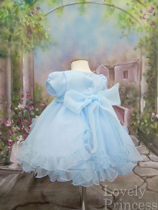 子供ドレス フィリー ブルー