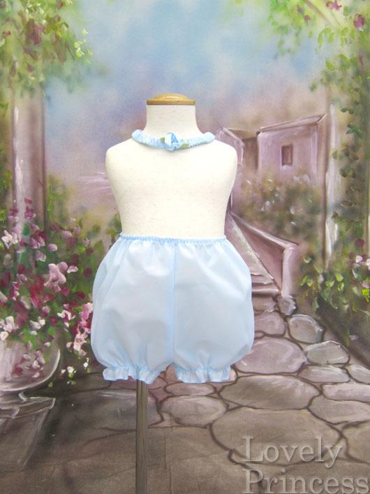 子供ドレス フィリー ブルー パンツ