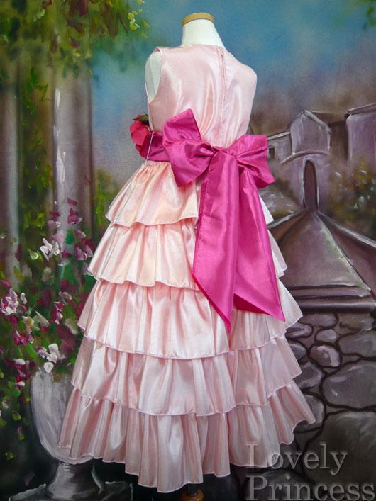 子供ドレス アナベル ピンク