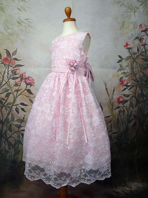 子供ドレス メロディーヌ ピンク