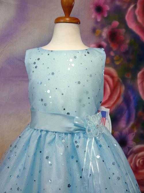 子供ドレス アリス ブルー