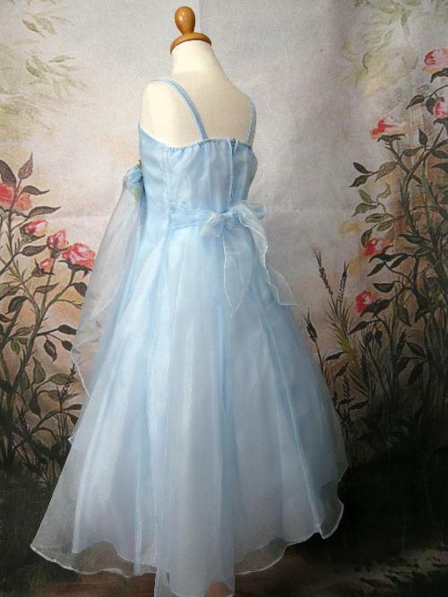 子供ドレス ロゼリア ブルー