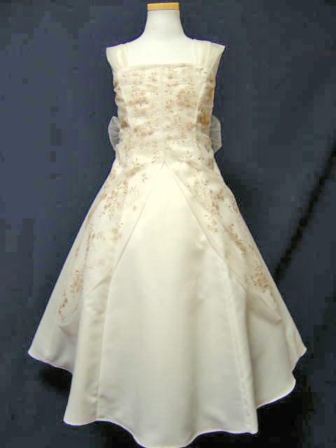 子供ドレス*4156 アイボリー