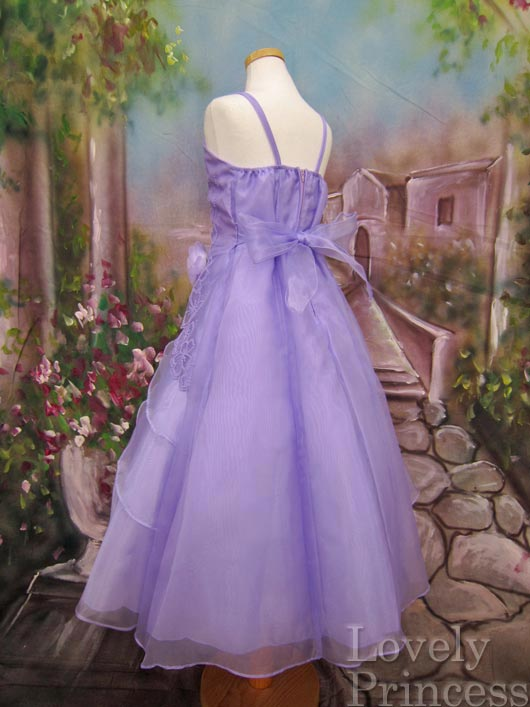 子供ドレス レミ ライラック