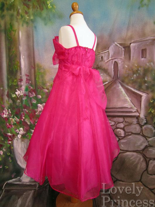 子供ドレス フェリシア フューシャ