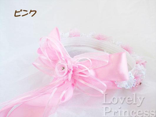 フラワークラウン(tt514)ピンク