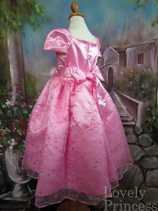 子供ドレス フィオナ ピンク