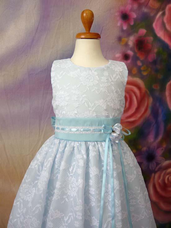 子供ドレス メロディーヌ ブルー