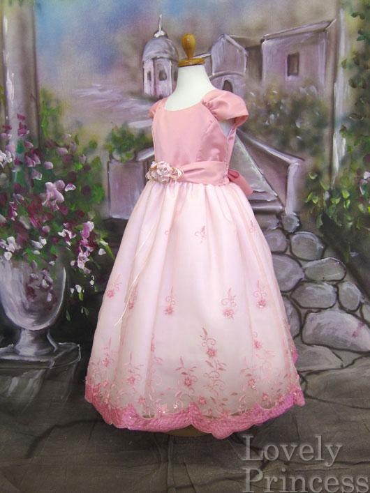 子供ドレス シャイニーB ピンク