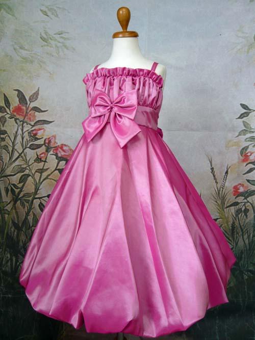 子供ドレス ロゼッタ フューシャ