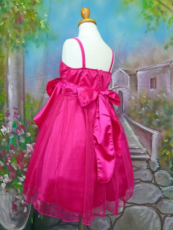 子供ドレス ミリア フューシャ
