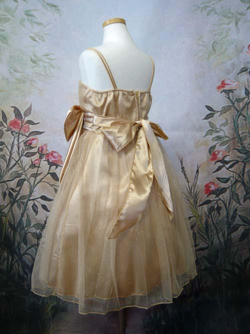 子供ドレス ミリア ゴールド
