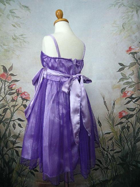 子供ドレス ミリア パープル