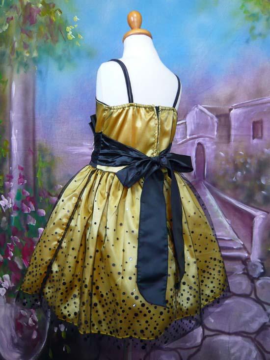 子供ドレス セリーヌ イエロー