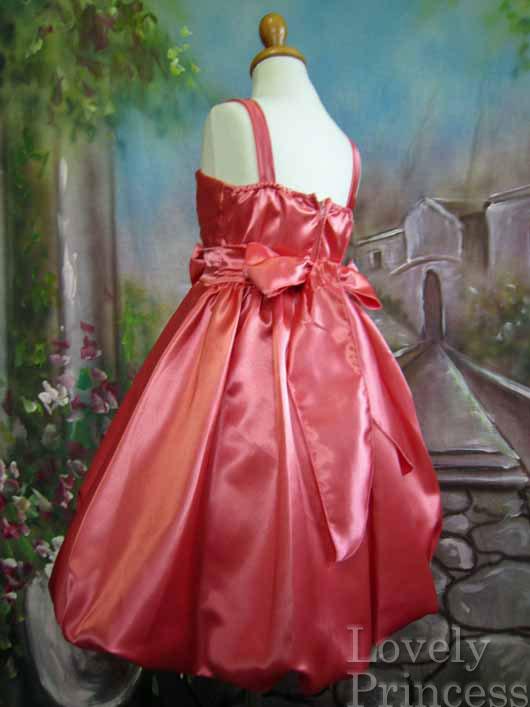 子供ドレス カレン コーラル