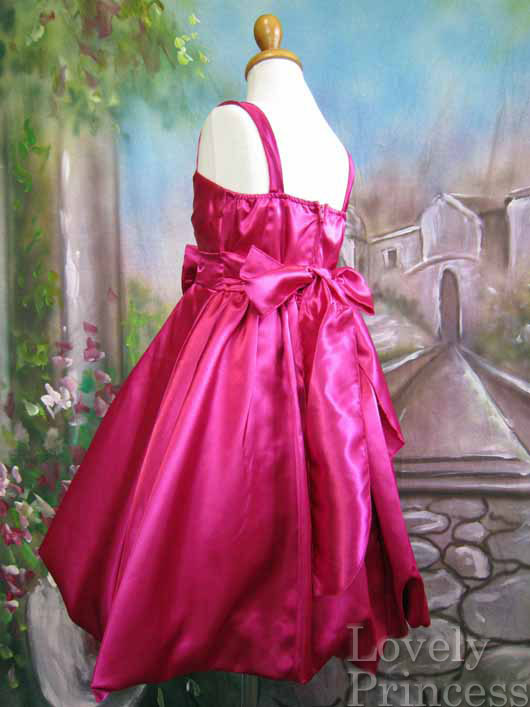 子供ドレス カレン フューシャ