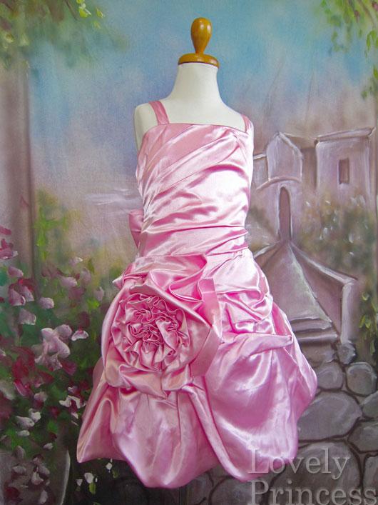 子供ドレス ハンナ ピンク