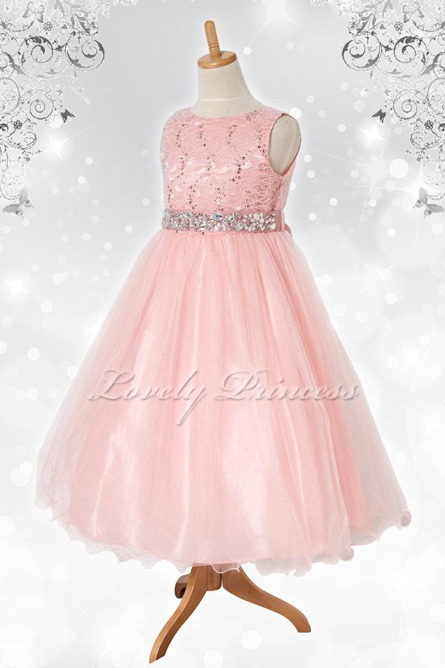 結婚式子どもドレス レティシア ブラッシュピンク