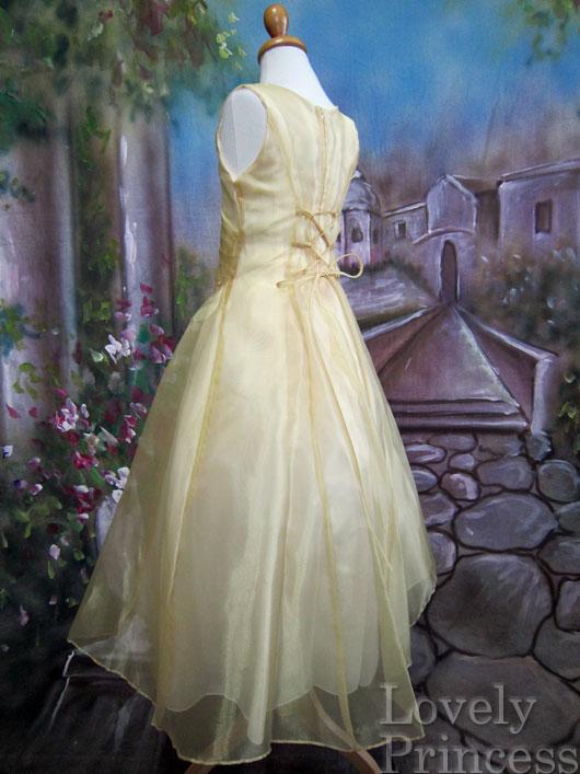 子供ドレス ジョゼフィーヌ ゴールド