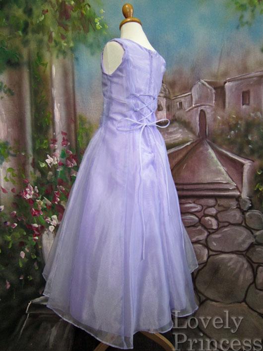 子供ドレス ジョゼフィーヌ ライラック