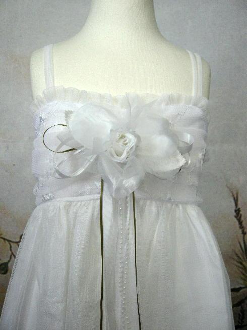 子供ドレス レディ ホワイト2