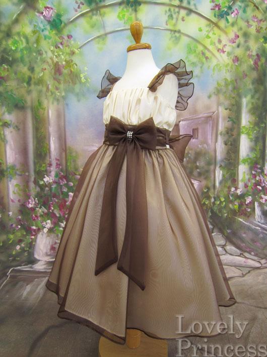 子供ドレス ベアトリス ブラウン