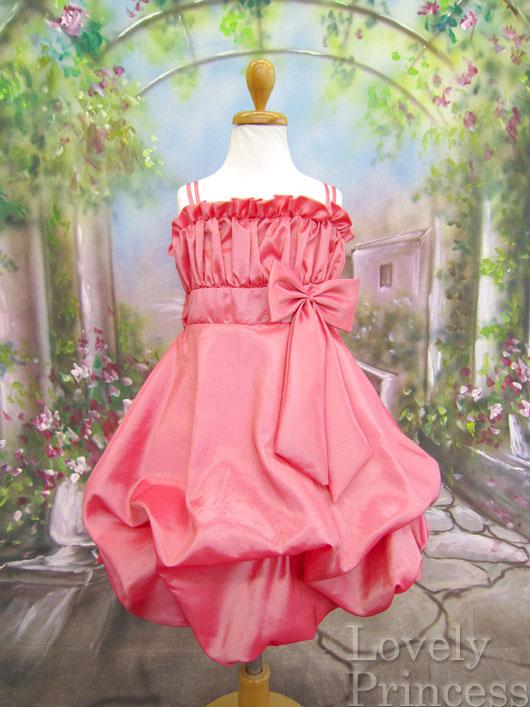 子供ドレス シャンテル コーラル