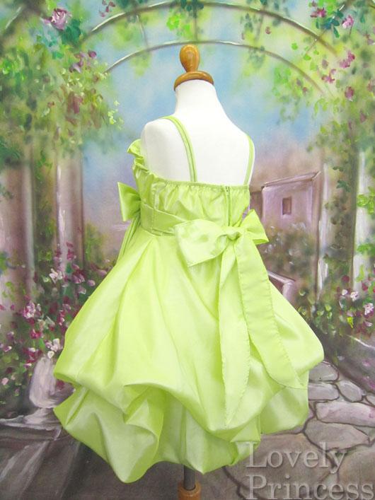 子供ドレス シャンテル ライム