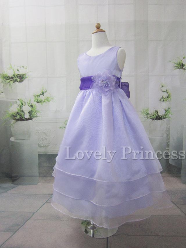 結婚式子供ドレス ジャッキー ライラック