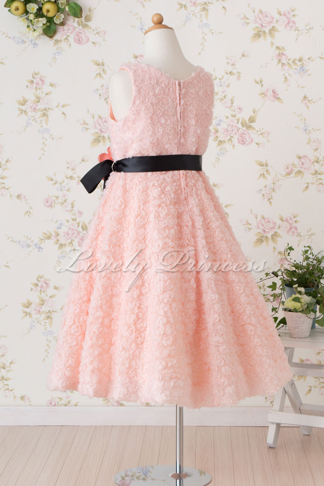 結婚式子供ドレス スザンヌ ピンク