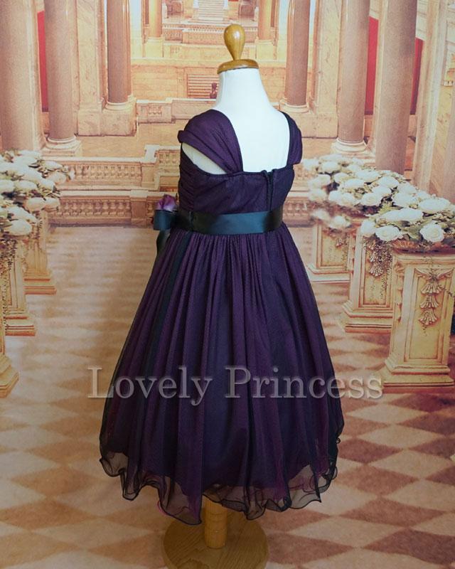 結婚式子供用ドレス メーベル フューシャ
