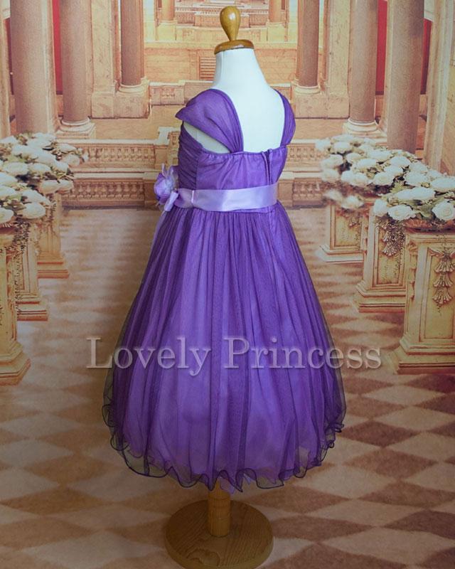 結婚式子供用ドレス メーベル ライラック