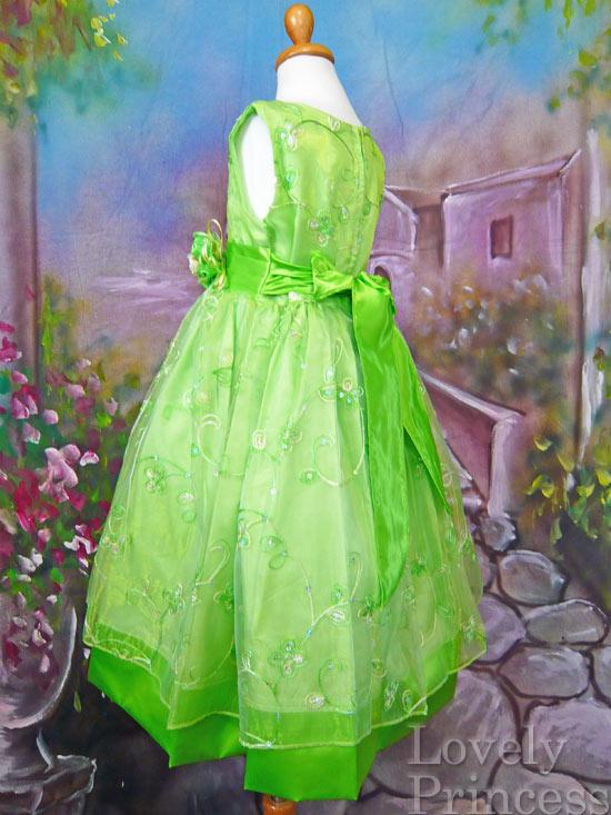 子供ドレス ジェーン グリーン