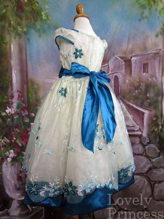 子供ドレス ニコル ティール