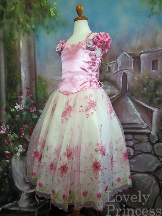 子供ドレス ダイアナ ピンク