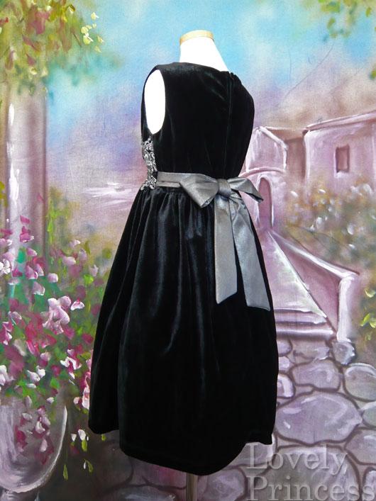 子供ドレス デニス ブラック