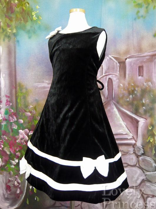 子供ドレス カーラ ブラック