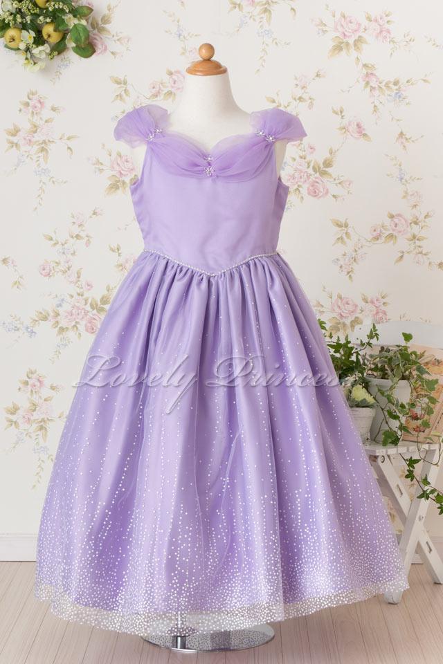 子供のドレス クリスティーナ ライラック
