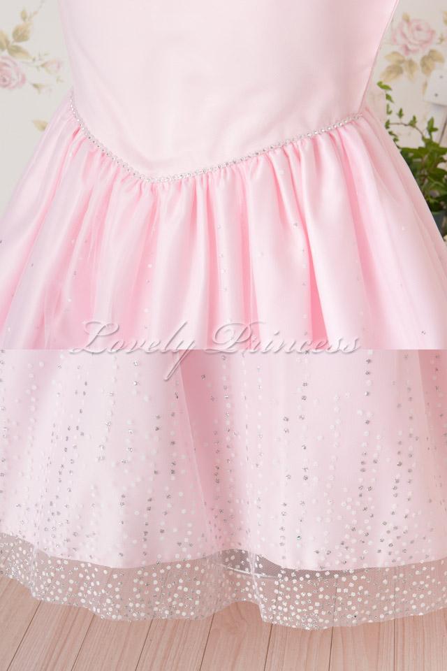 可憐な子供用ドレス クリスティーナ ピンク