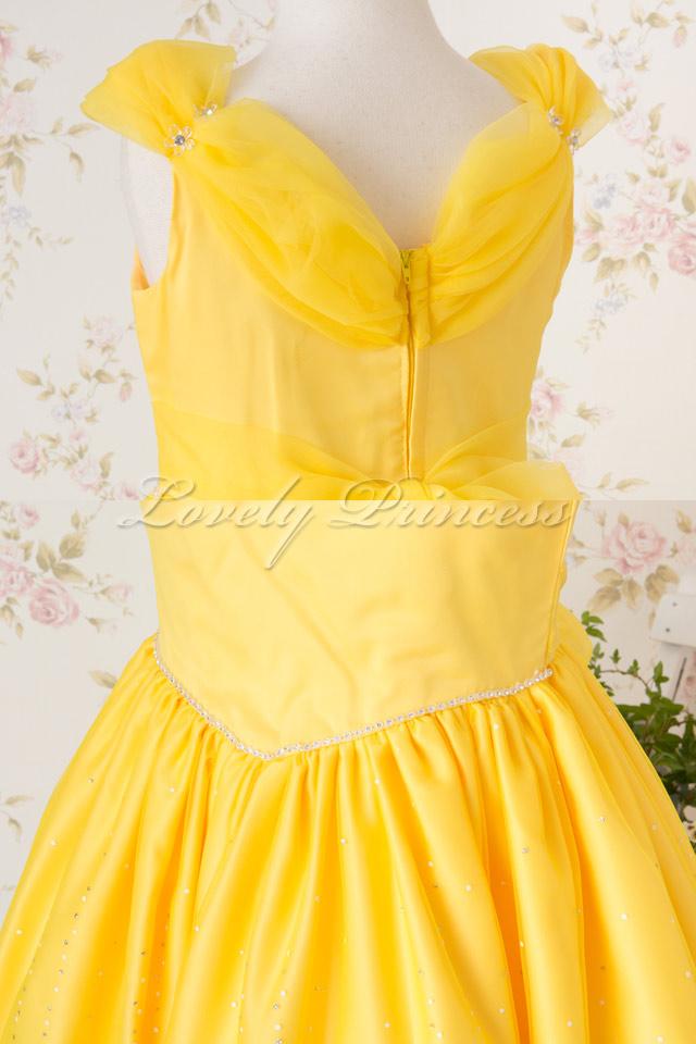 クリスティーナ イエロー 子供のドレス